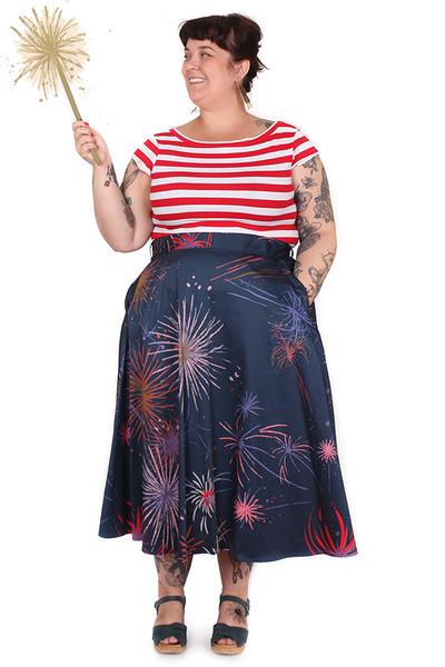 Every Body Valentina Skirt Fireworks