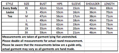 Every Body Louise Tee States