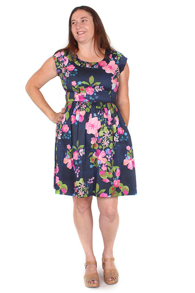Every Body Aggie Dress Forever Flowers