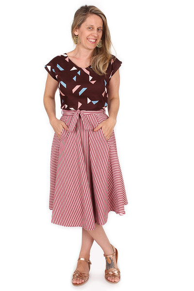 Every Body Valentina Skirt Midi Shrill