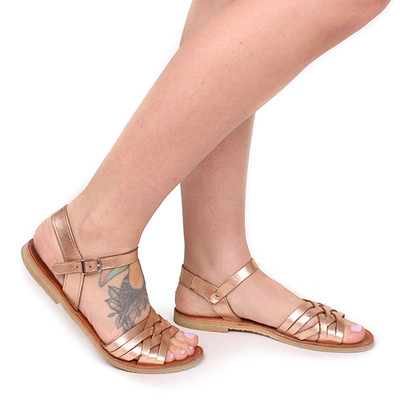 Sandal Braid Rose Gold