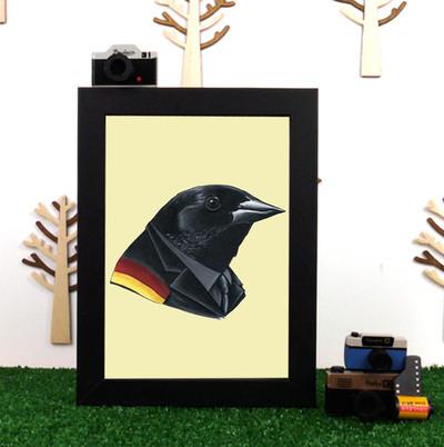 Ryan Berkley Red-Winged Blackbird Framed Print