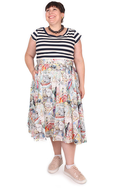 Every Body Valentina Skirt Midi Mays Tales