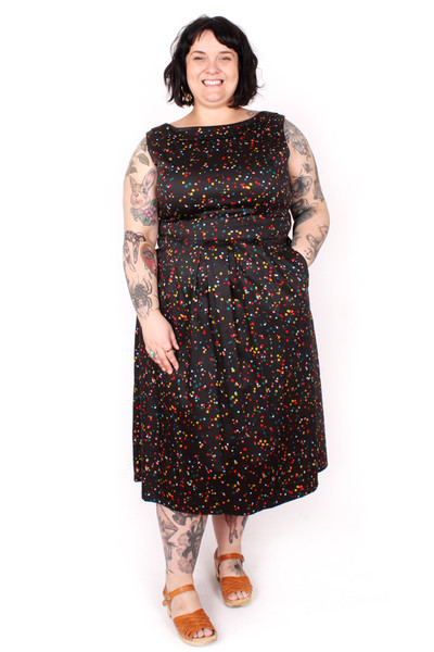 Every Body Mallory Dress Funfetti