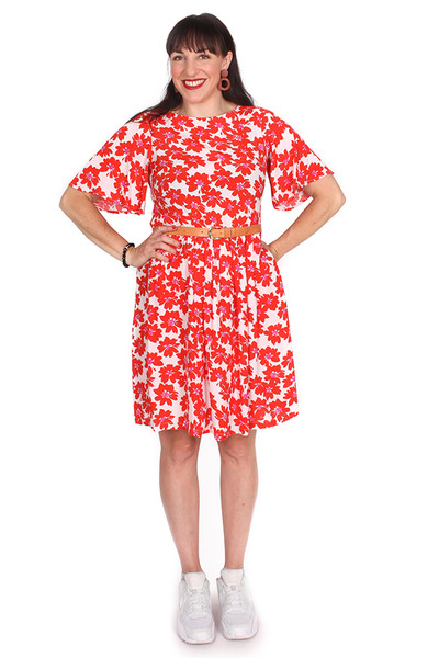 Every Body Evelyn Dress Summer Fun Floral