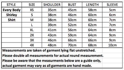 Every Body Shirley Shirt Geometry