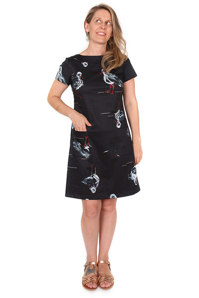 Every Body Penelope Dress Seagulls