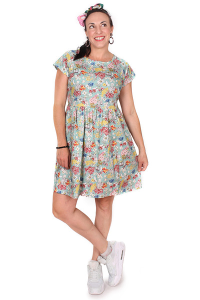 EB Jessie Dress Gumnut Friends