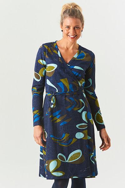 Wrap Dress Fifty Blue