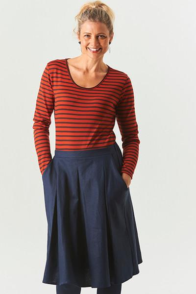 LS Top Wool Orange