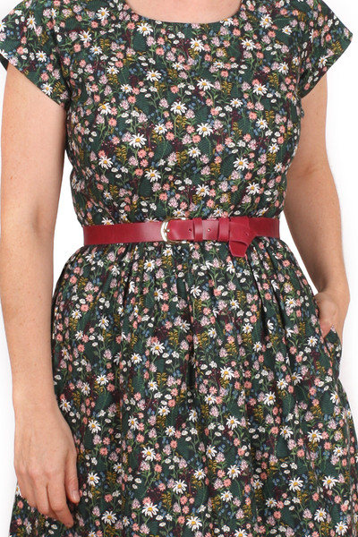 EB Jessie Dress Wildflowers Hunter