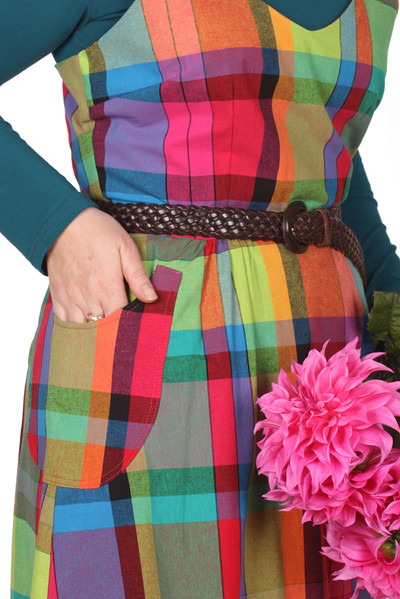 EB Piper Pini Rainbow Plaid