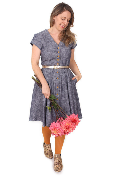 EB Saski Dress Wednesday Blues.