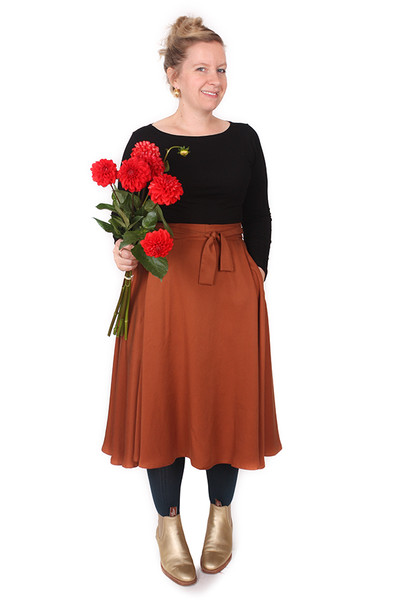 EB Midi Valentina Tencel Copper