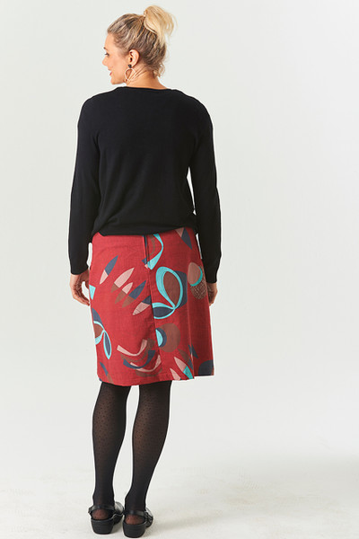 Heidi Skirt Short Fifty Red