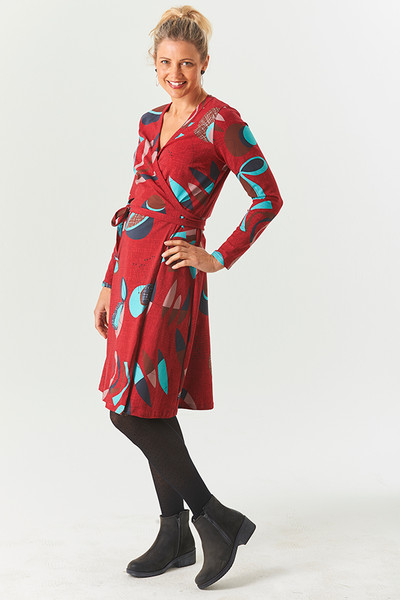 Wrap Dress Fifty Red