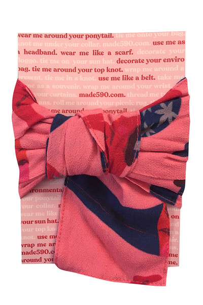 Hair Wrap Diving Ladies Pink
