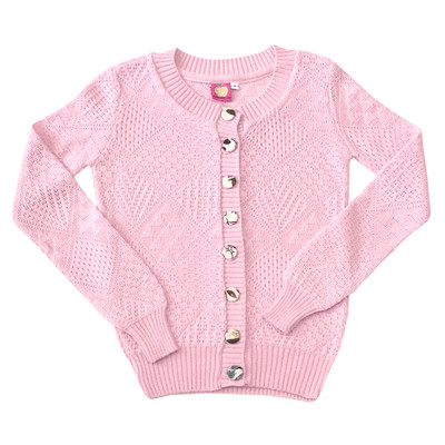 Clementine Cardigan Baby Pink