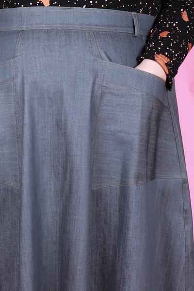 Paige Skirt Stormy Night