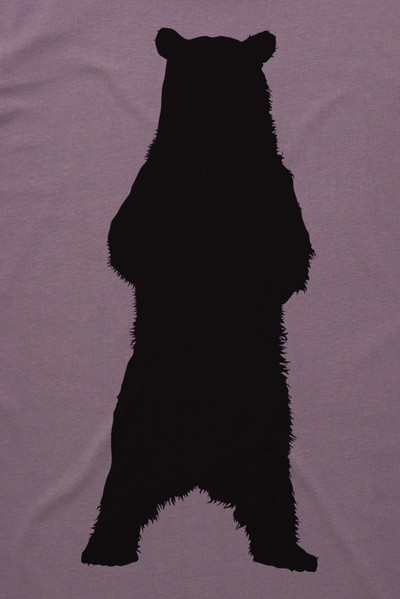 Grizzly Bear Mauve Mens T