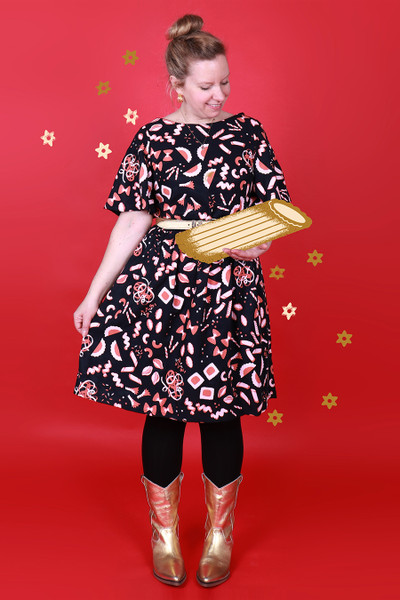 Evelyn Dress Pass the Pasta