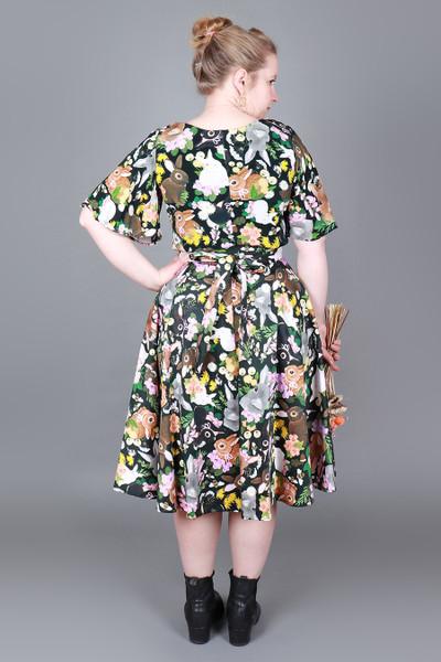 Valentina Skirt Midi Cotton Tail.