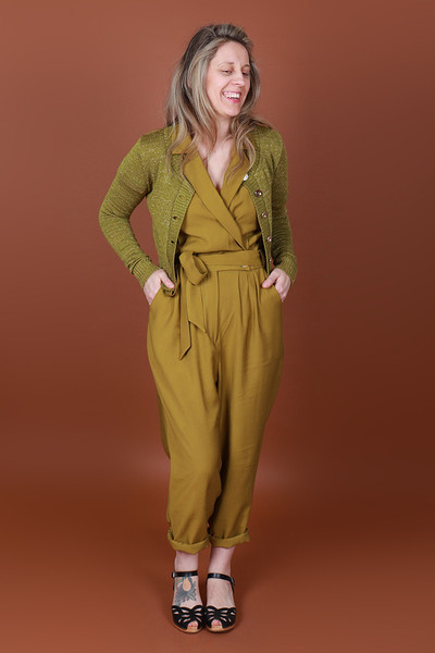 Maisie MADEsuit Chartreuse