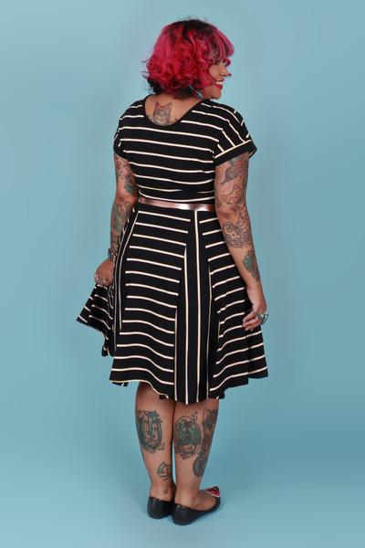 Ripley Reversible Dress Apollo Stripe.