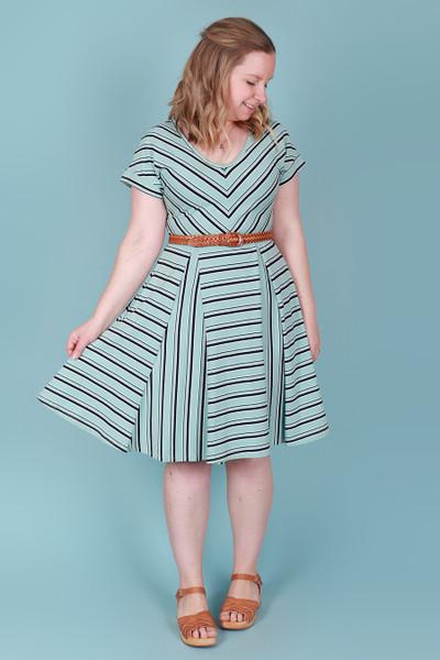 Ripley Reversible Dress Mint Slice