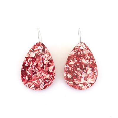Classic Glitter Drops Dusty Pink