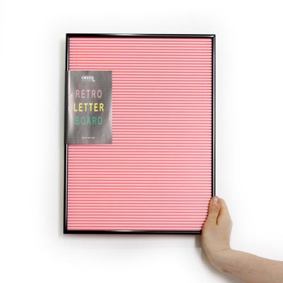 OMM Design - Pink & Black Letter Board