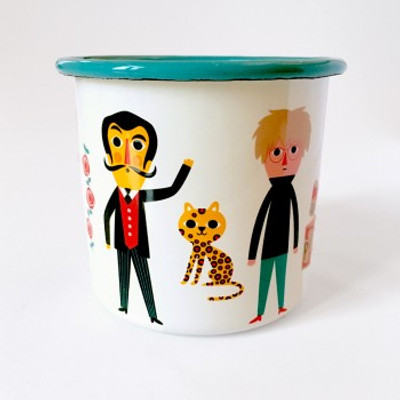 Enamel Artists Mug