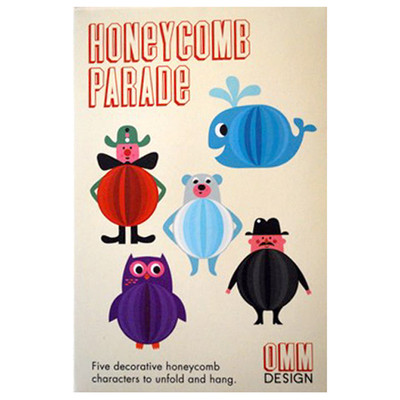 Omm Design - Honeycomb Character Parade