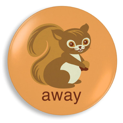 Squirrel Away Plate - Jane Jenni