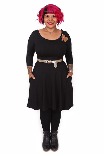 Sybil Dress Black