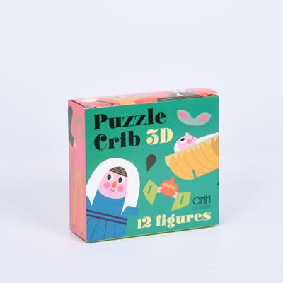 OMM Design - Xmas Puzzle Crib 3D 12 figures