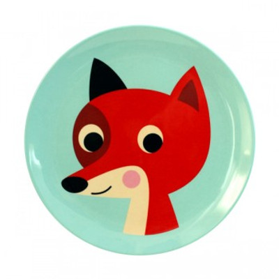 Omm Design - Mint Fox Plate