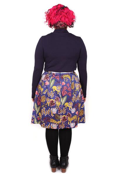 Bonset Skirt Big Cats
