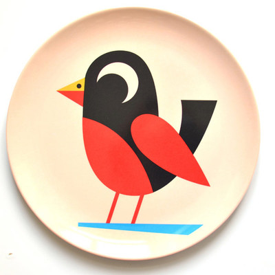 OMM Design Bird Plate 1