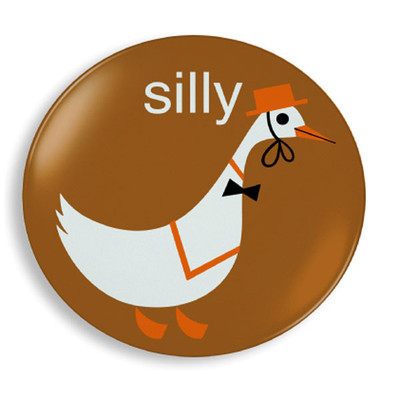 Silly Goose Plate - Jane Jenni