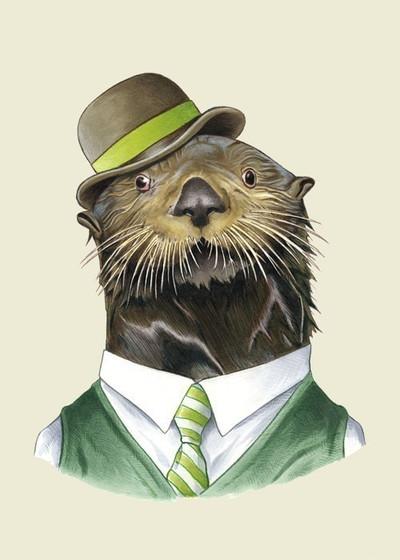 Ryan Berkley Sea Otter Framed Print