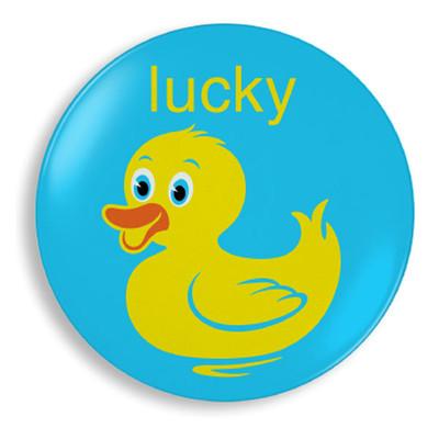 Lucky Duck Plate - Jane Jenni