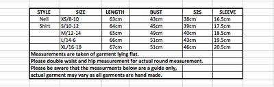 Nell Shirt Linen Texture