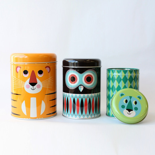 Canister -Animals.