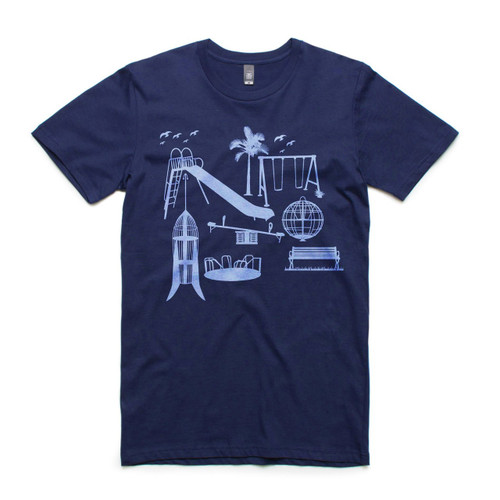 Parklife Navy Mens T