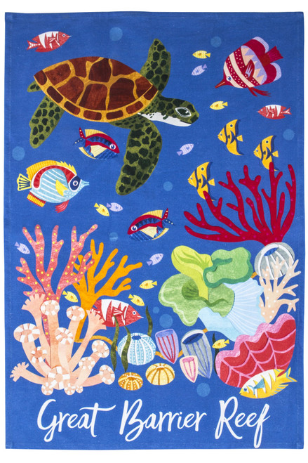 Great Barrier Reef Tea Towel
