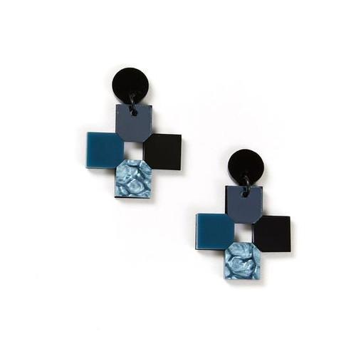 Cross Earrings Storm