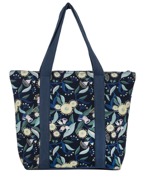 Gum Blossom Insulated Tote Bag