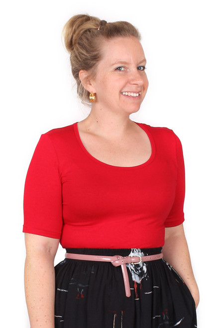 EB Bree Top Red