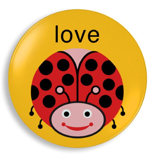Love Bug Plate
